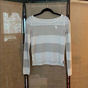 Striped Abercrombie & Fitch sweater